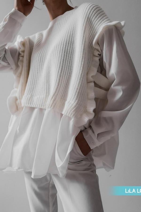 Sweter BARTI White