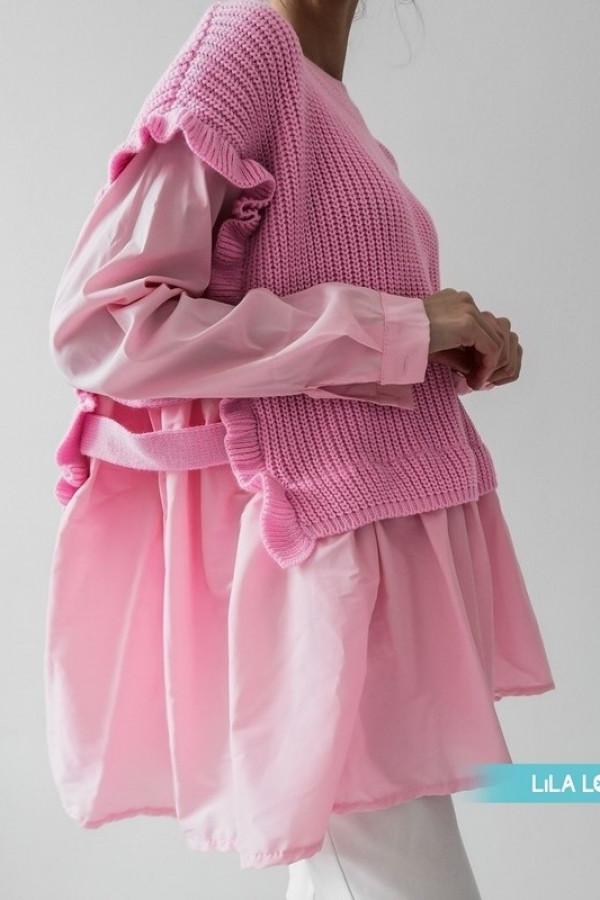 Sweter BARTI Light Pink