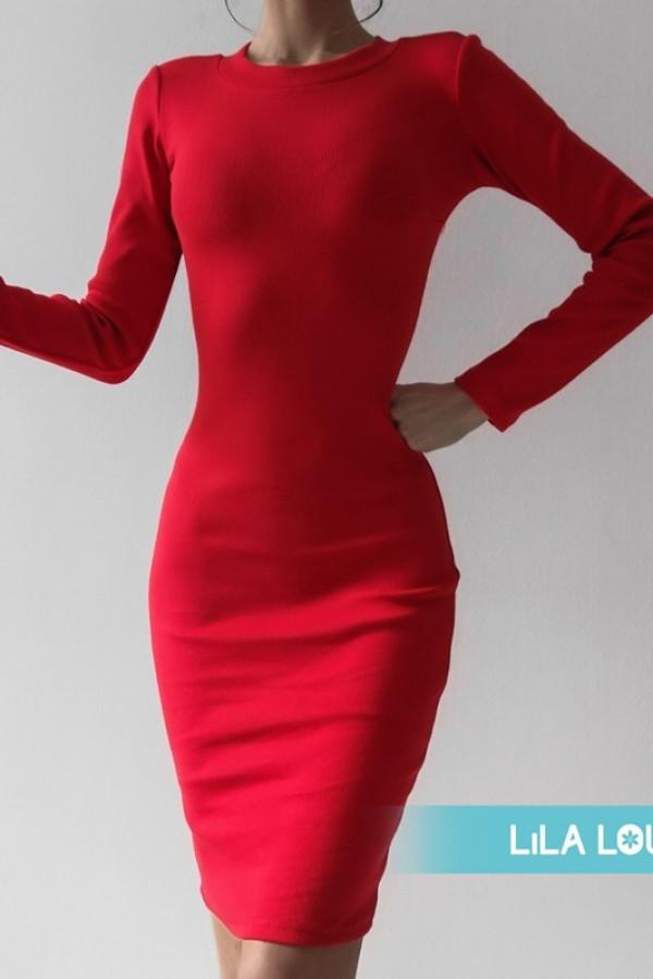 Sukienka PATI Czerwona 1