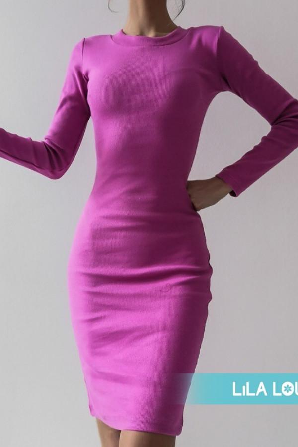 Sukienka PATI Różowy Barbie 1