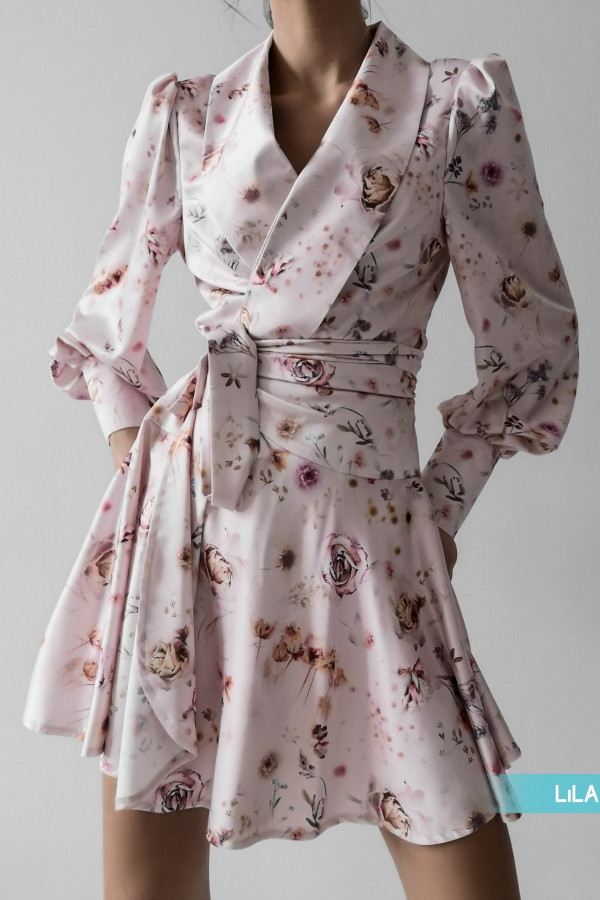 Sukienka CAROLINE Light Pink 1