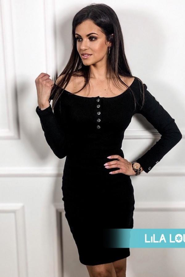 Sukienka MARTII Czarna