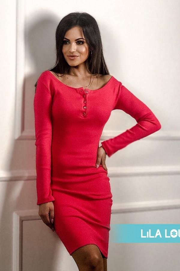 Sukienka MARTII Malinowy 1