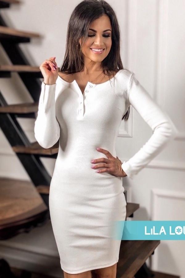 Sukienka MARTII Off White