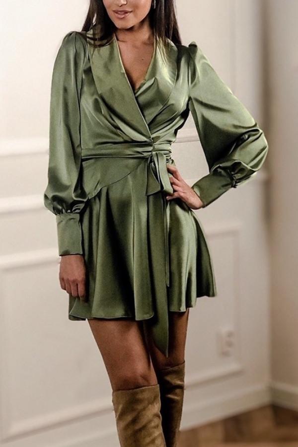 Sukienka CAROLINE Zielona