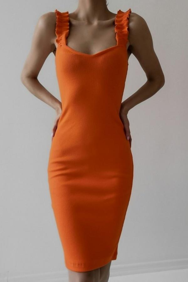 Sukienka ALICE Pomarańczowa