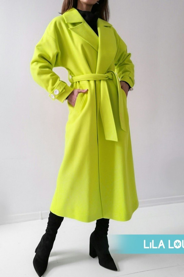 Płaszcz CITY Neon Green
