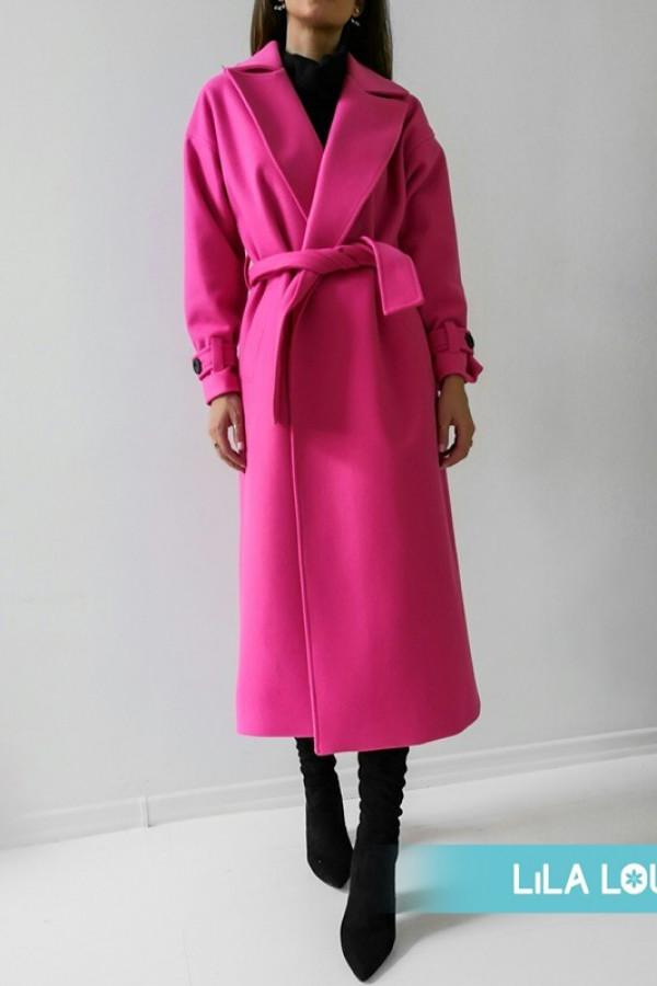 Płaszcz CITY Neon Pink