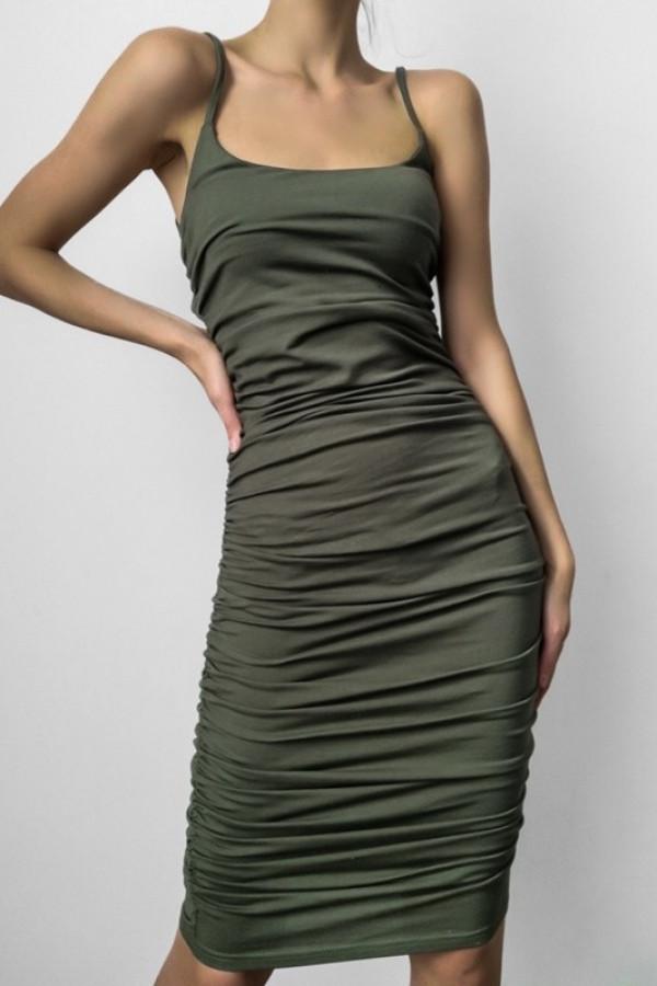 Sukienka MARLA Khaki