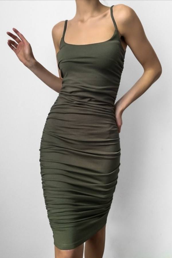 Sukienka MARLA Khaki 1