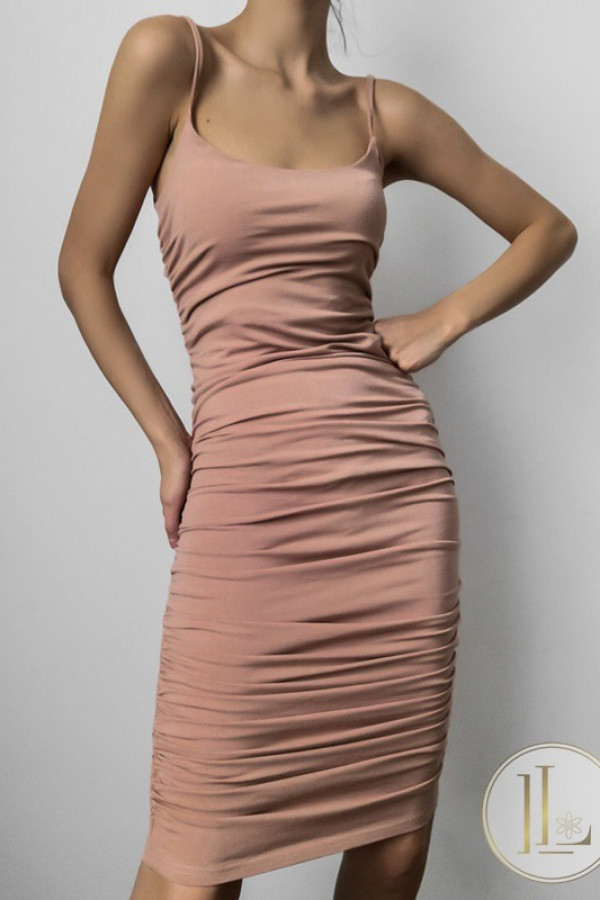 Sukienka MARLA Nude
