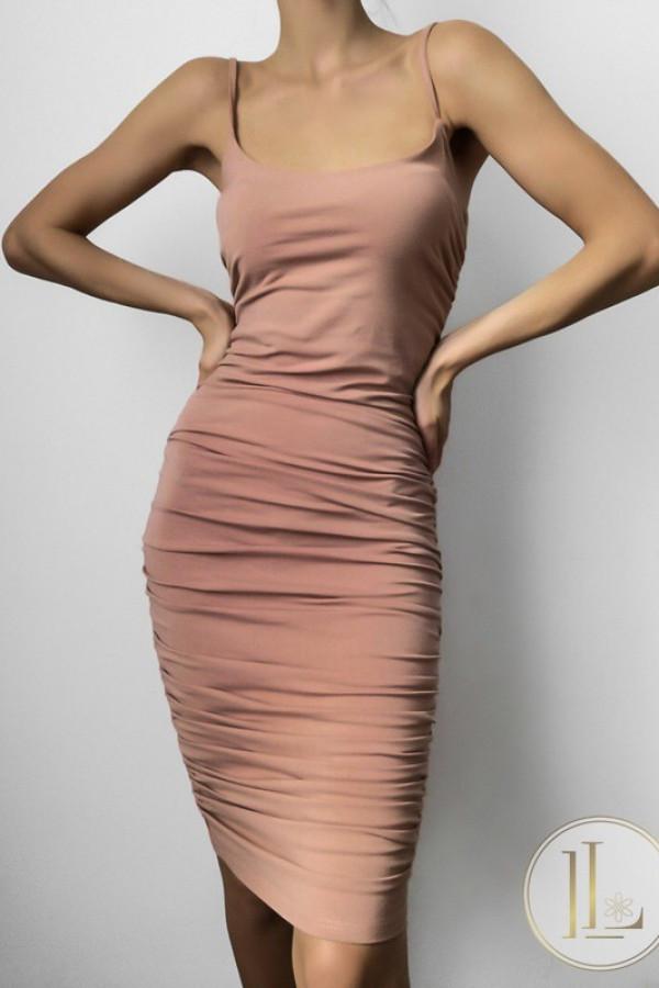 Sukienka MARLA Nude 1