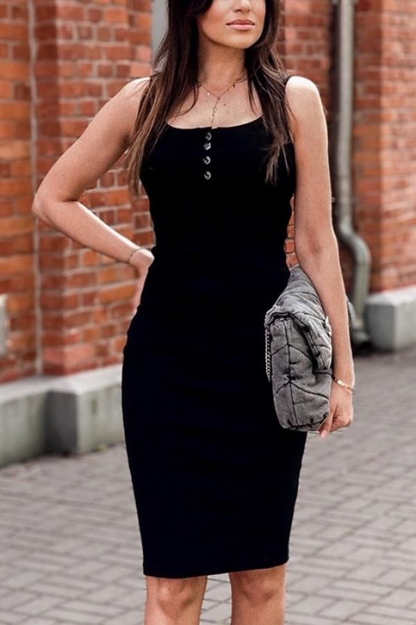 Sukienka LENA Czarna