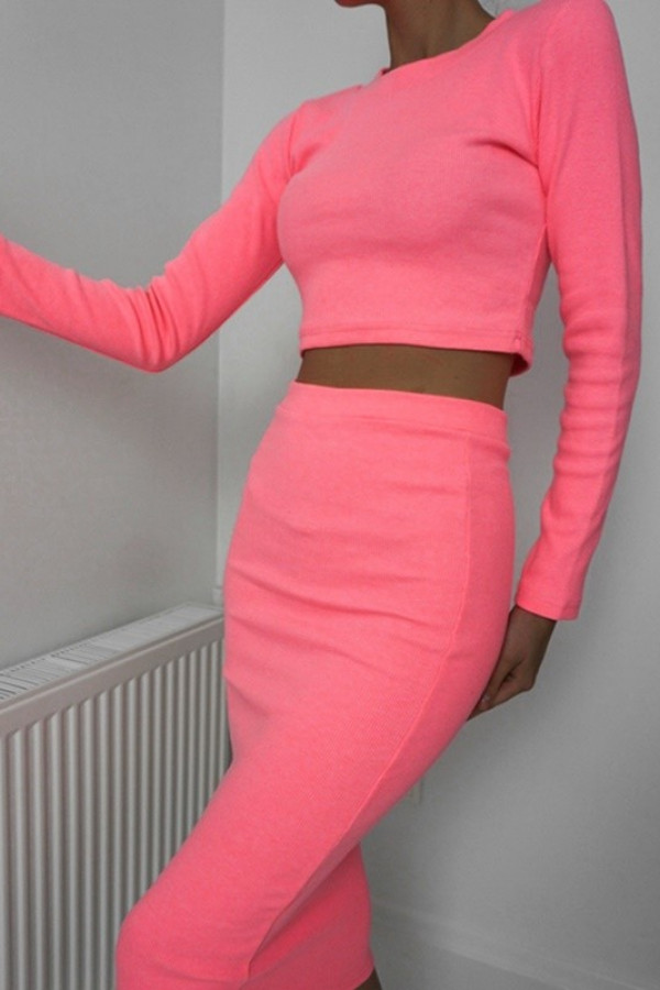 Komplet PATI Neon Pink