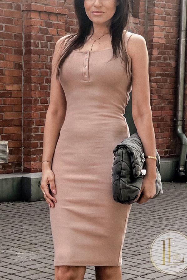 Sukienka LENA Nude