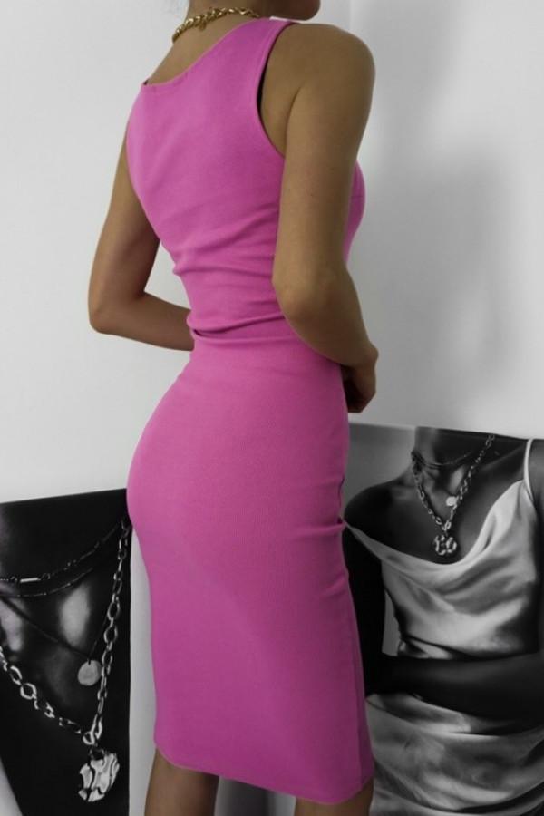 Sukienka LENA Fuksja 1