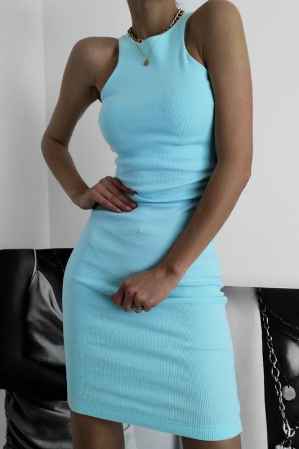 Sukienka LOREN Aqua