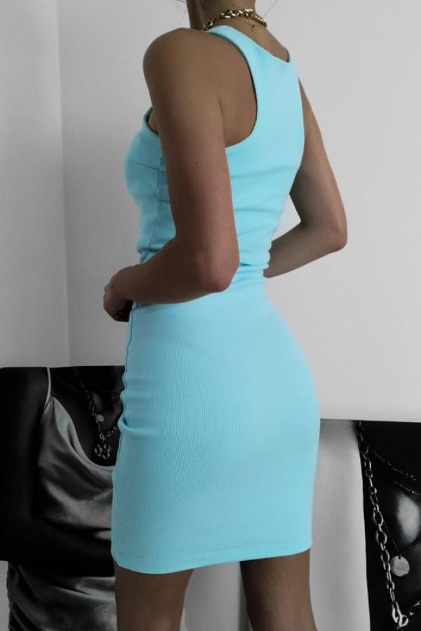 Sukienka LOREN Aqua 1