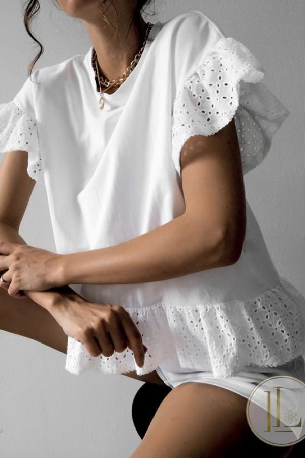 T-shirt KIKI Off White 1