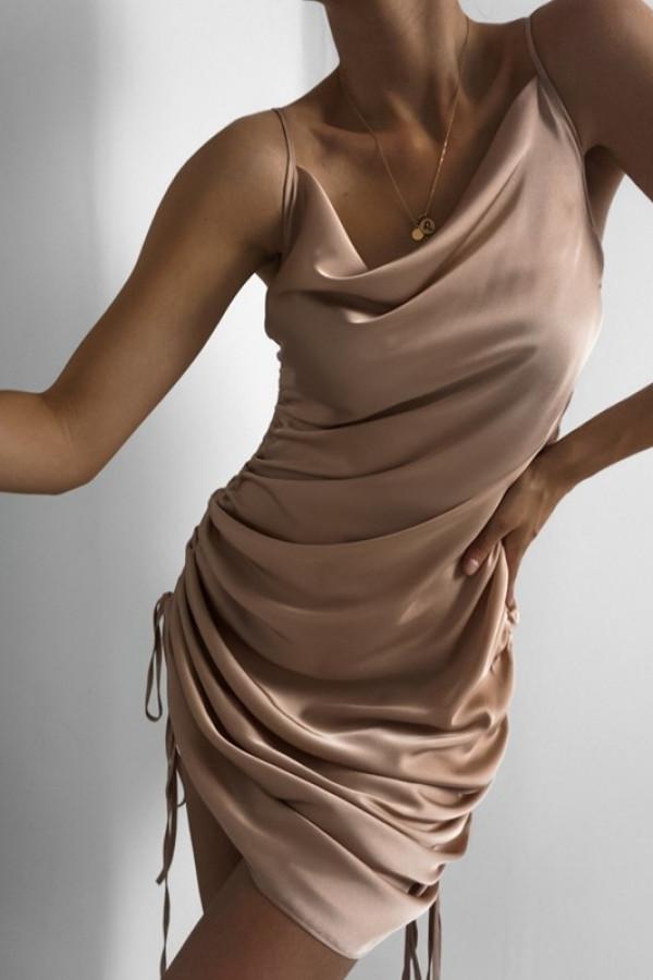 Sukienka MILA Nude