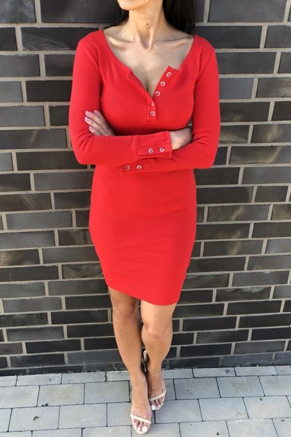 Sukienka MARTII Czerwona