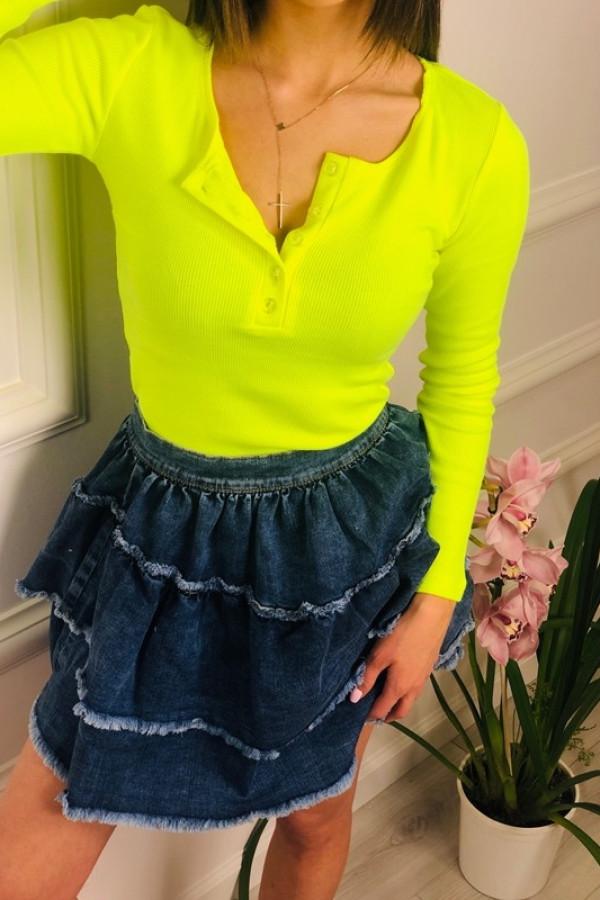 Bluzka MARTII Neon Żółty