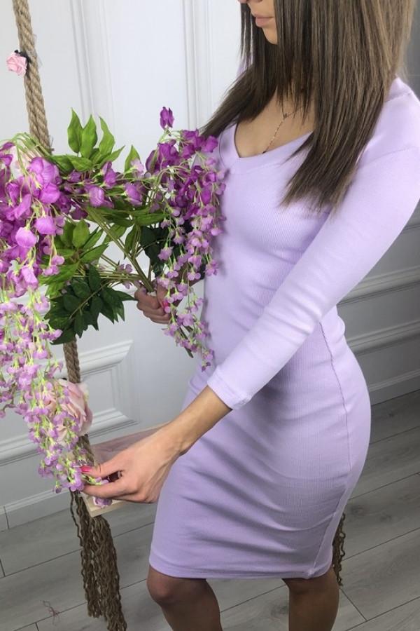 Sukienka TARA Fioletowy