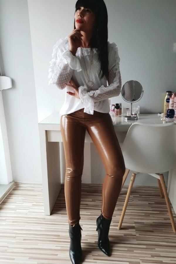 Spodnie Lateks Koniakowy