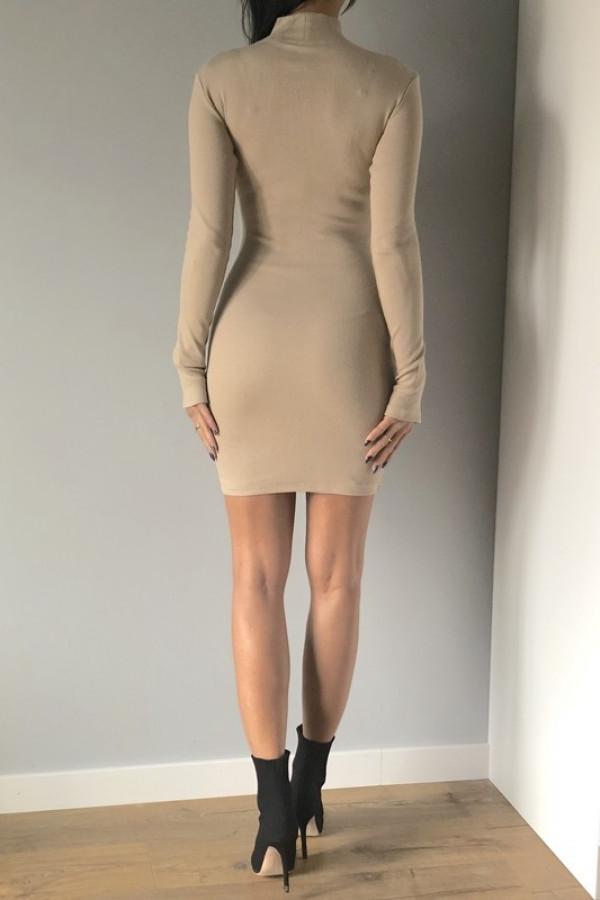 Sukienka LOSSAL Beżowy 1