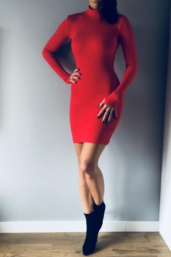 Sukienka LOSSAL Czerwona