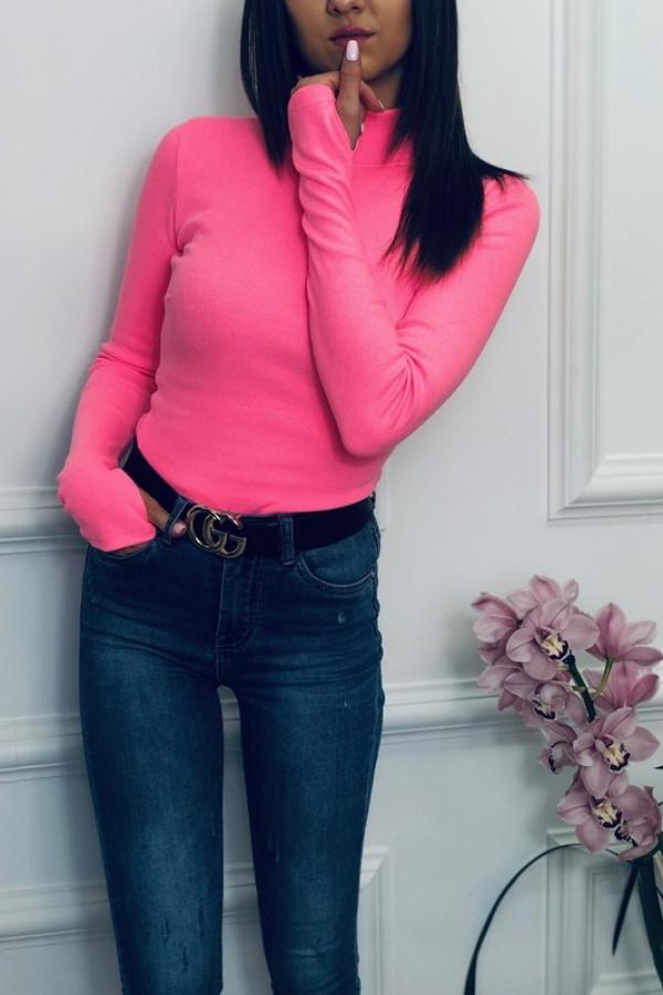 Bluzka LOSSAL Neon Różowy