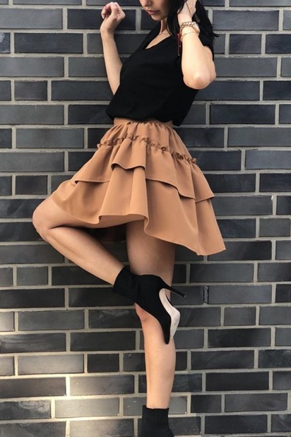 Spódnica LILY Karmel