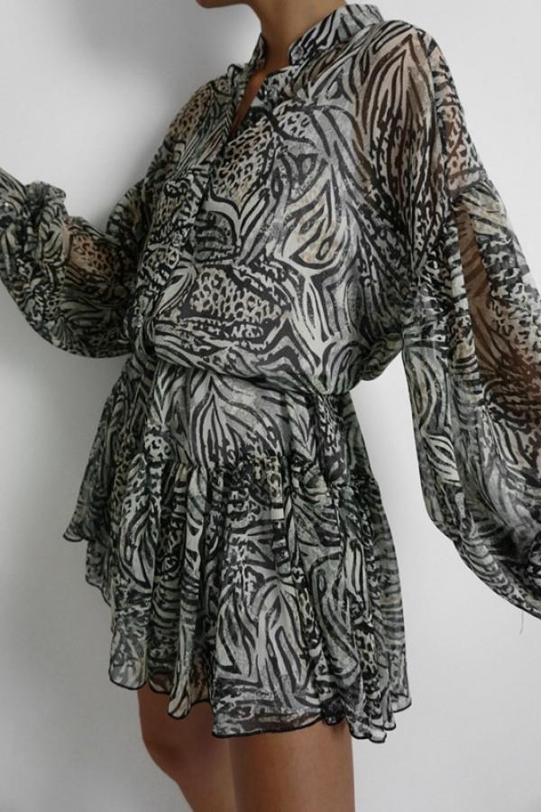 Sukienka ZIMERK Beige