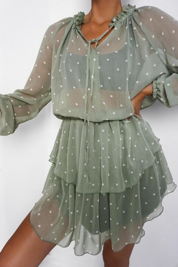 Sukienka TERI Olive