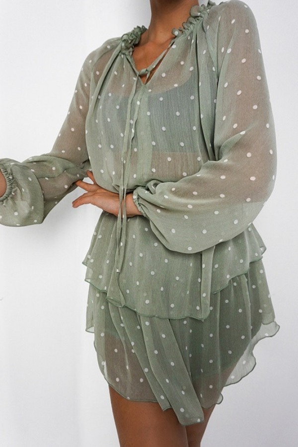 Sukienka TERI Olive 1