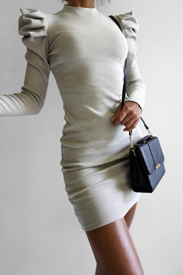 Sukienka HOLLY Beige 1