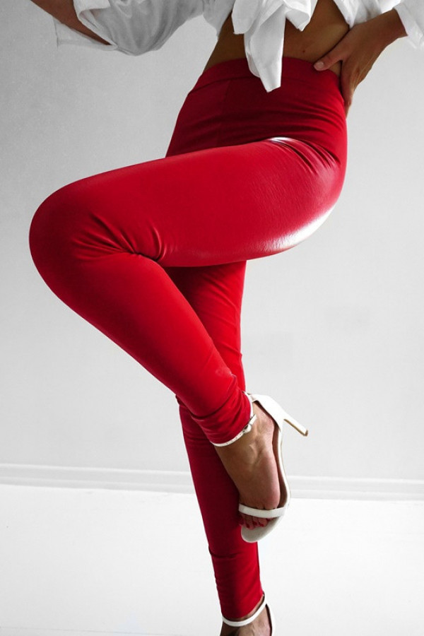 Legginsy LATEKS Red