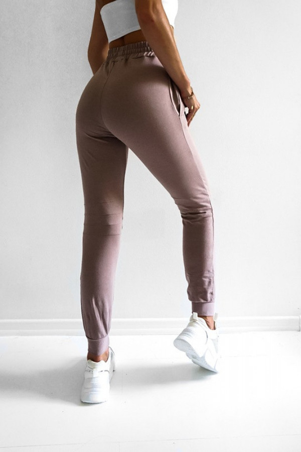 Spodnie KAROLA Light Pink 1