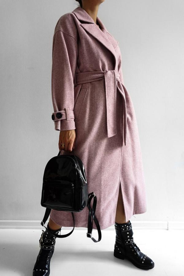 Płaszcz CITY Dirty Pink