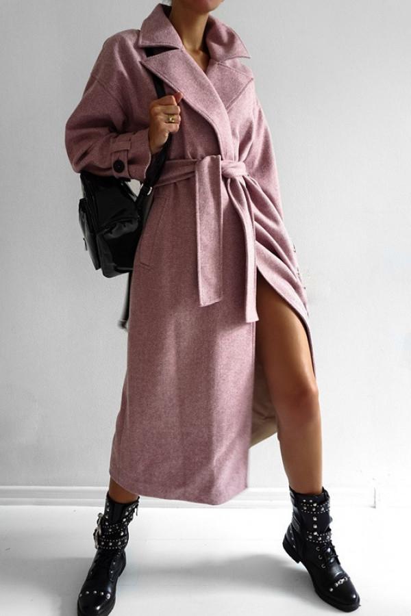 Płaszcz CITY Dirty Pink 1