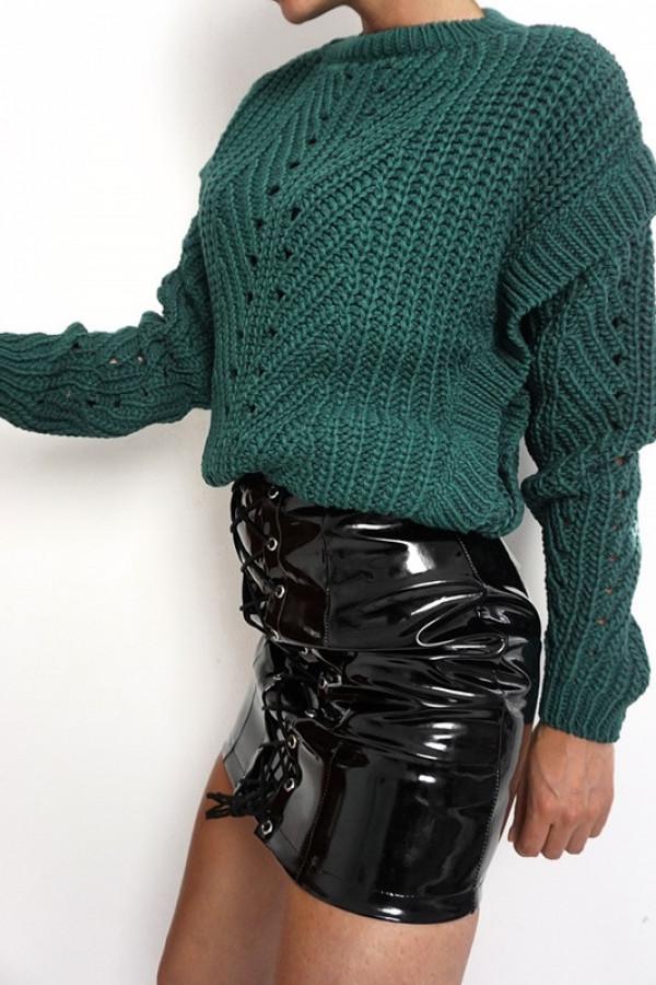 Sweter MOTYL Green 1