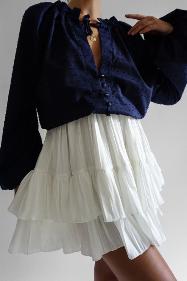 Spódnica ROSE White