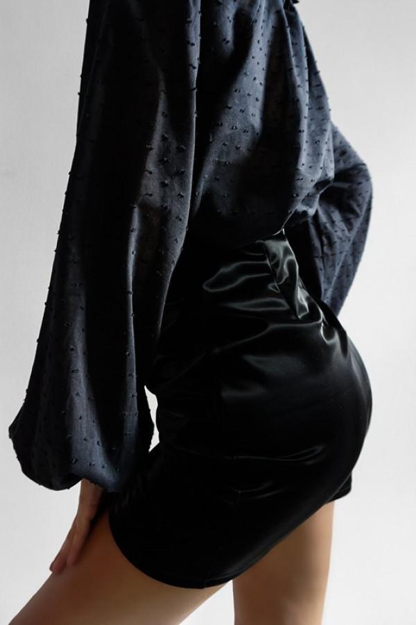 Spódnica Lateks Black 1