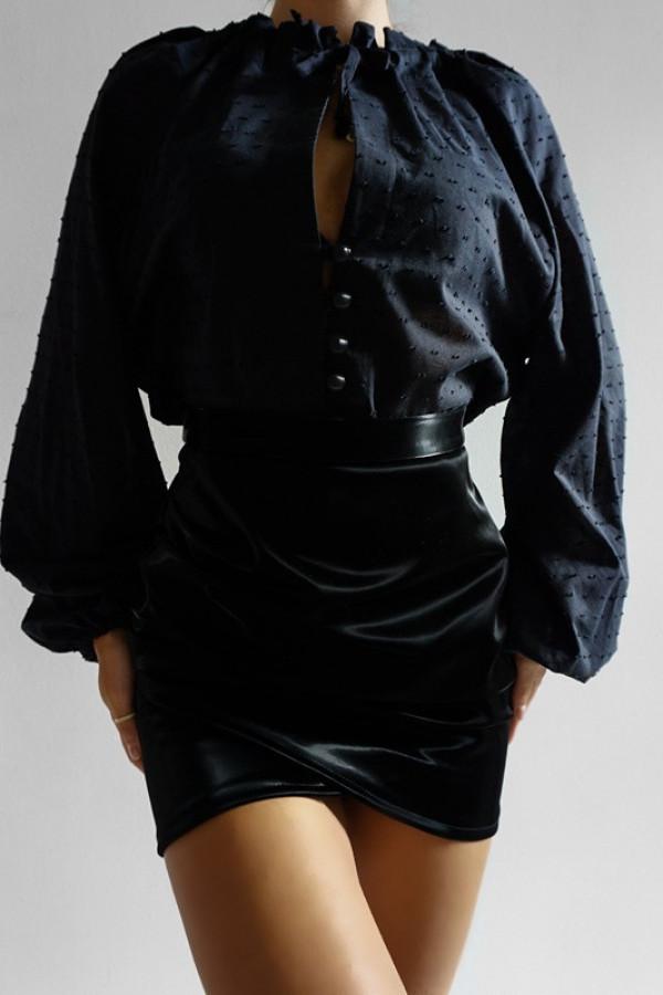 Spódnica Lateks Black