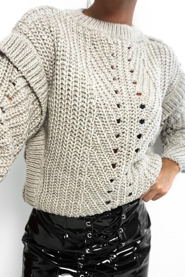 Sweter MOTYL Beige