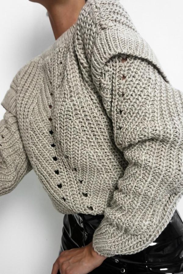 Sweter MOTYL Beige 1