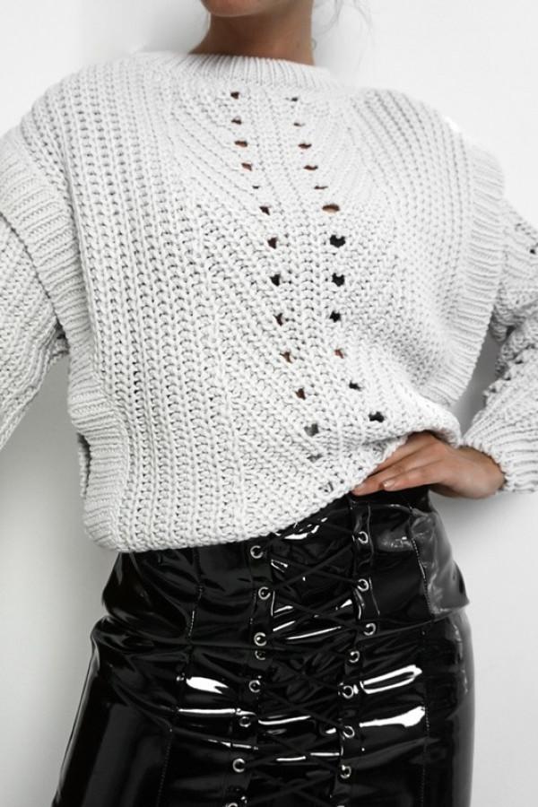 Sweter MOTYL Grey