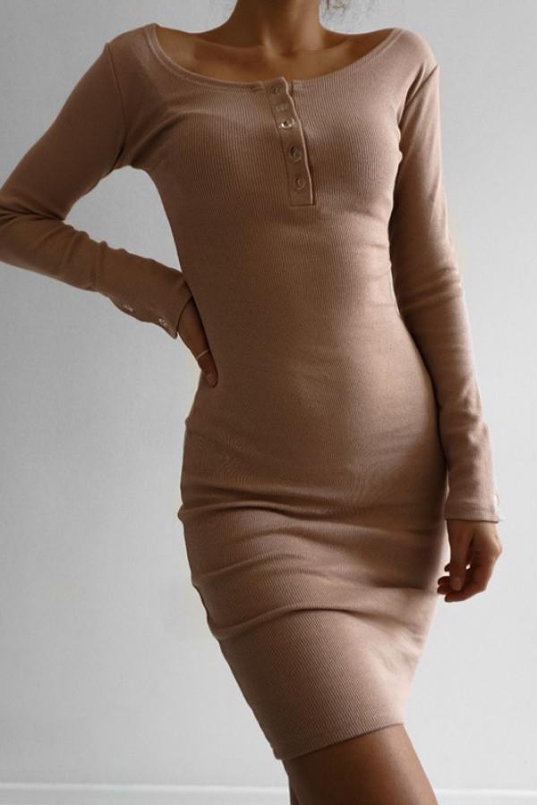 Sukienka MARTII Nude