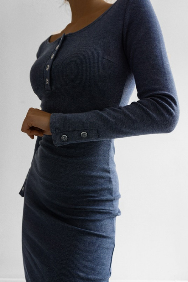 Sukienka MARTII Jeans-Melanż 1