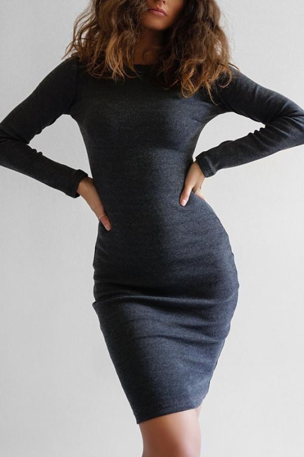 Sukienka PATI Melanż Jeans
